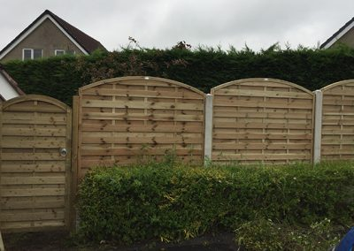 fence in burnley
