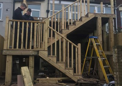 Elevated Decking Project