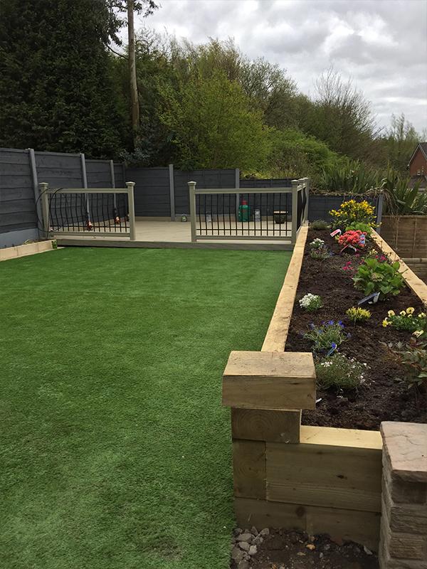 Case Study Oldham Garden Design Landmark Landscapes