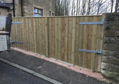 Yard driveway Gates