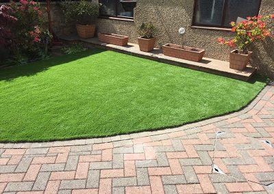 Artificial Grass Project in Burnley
